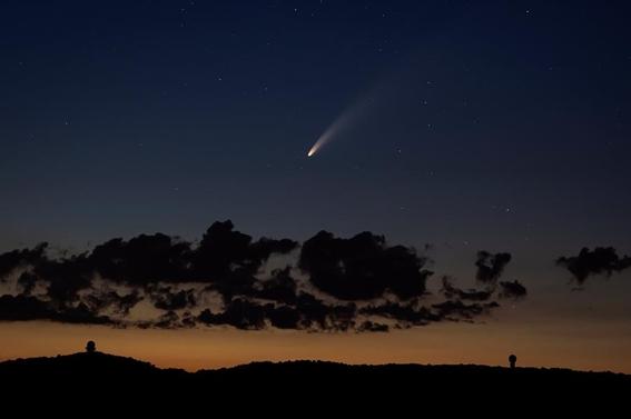 ¿cuando y como puedo ver el cometa neowise en mexico 1