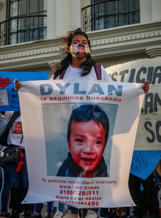 indigenas exigen encontrar a dylan nino robado por otra menor de edad 1