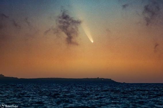 nasa comparte imagen del mexicano que fotografio al cometa neowise 1