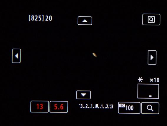 ¿como se vieron los anillos de saturno esta madrugada en mexico 1