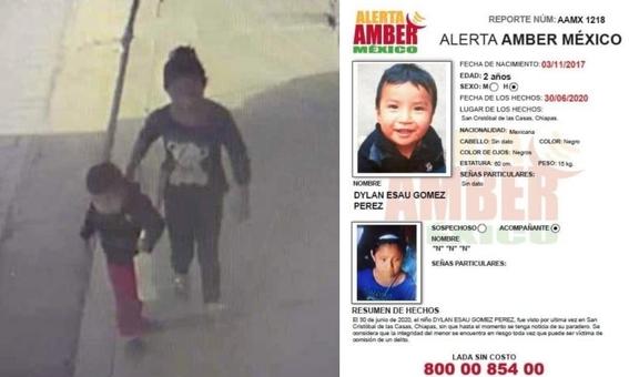 mama de dylan bebe desaparecido en chiapas pide ayuda para encontrarlo 1