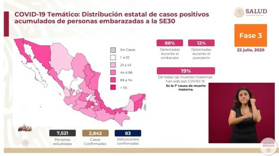 casos muertes mujeres embarazadas covid19 mexico 1