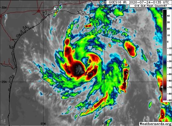 huracan hanna mexico estados unidos 1