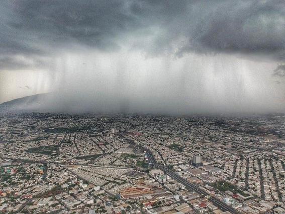 fotos de la tormenta tropical hanna en monterrey 3