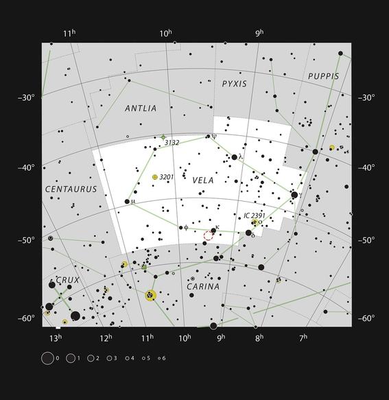 impresionante mariposa espacial capturada por el telescopio eso 2