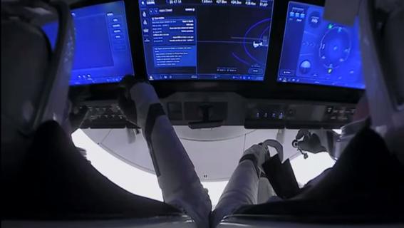 envivoelretornodelosastronautasspacexcrewdragon 2