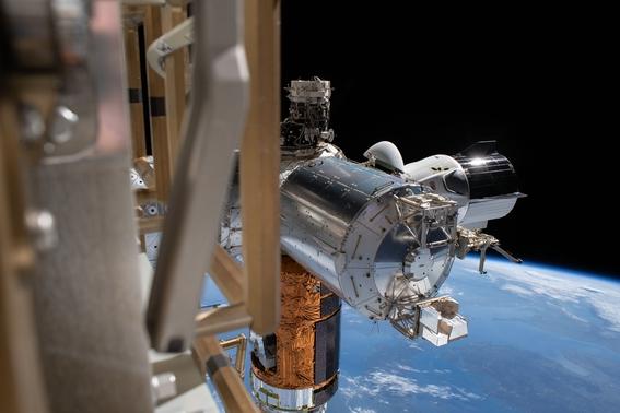 asi fue el regreso de la mision spacex a la tierra 1