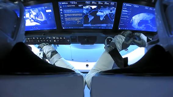 asi fue el regreso de la mision spacex a la tierra 2