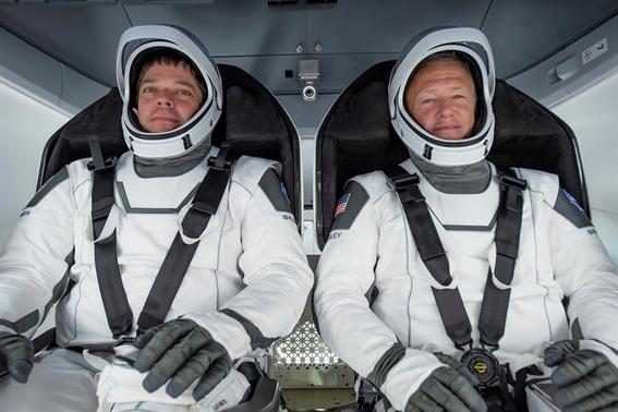 asi fue el regreso de la mision spacex a la tierra 3