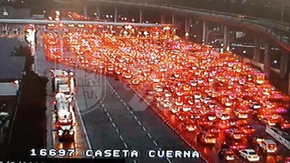 saturan la autopista mexicocuernavaca este fin de semana 2