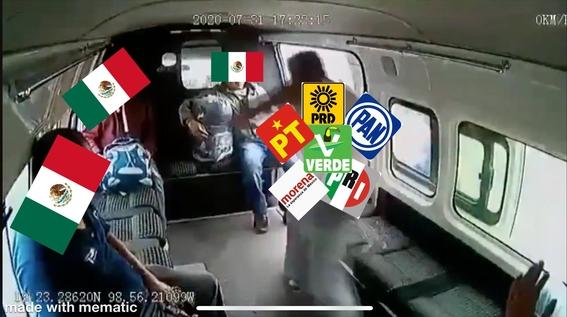 memes ladron combi mexico texcoco 4