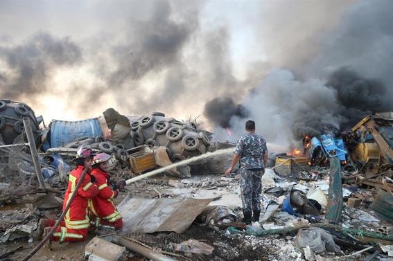 causas de la explosion de beirut libano 1