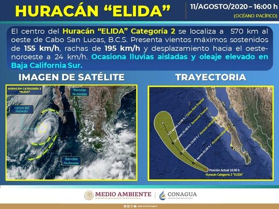 huracan elida baja california sur 1