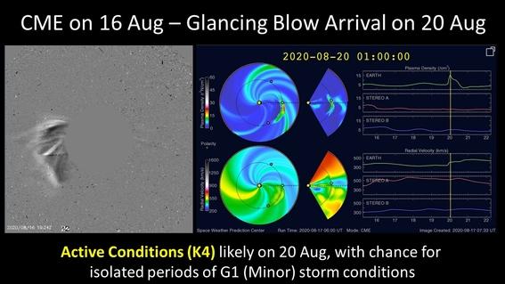 Tormenta Solar podría golpear a la Tierra este jueves 20 de agosto ...