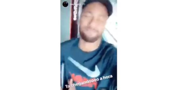 neymar canta cielito lindo previo a la final de champions league 1