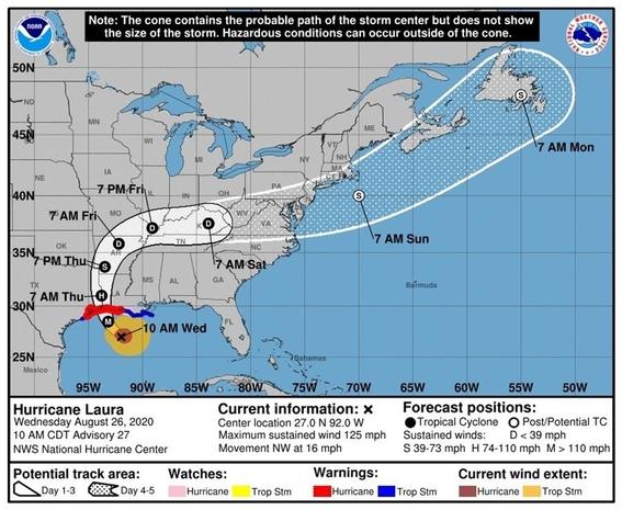 huracan laura texas estados unidos 1