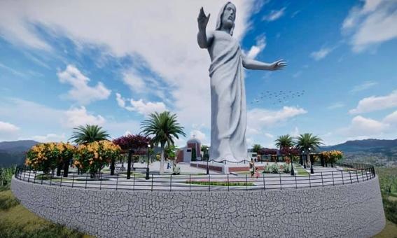 construiran en zacatecas el cristo mas grande de mexico 1