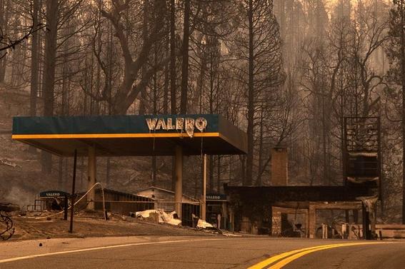 cielo naranja california incendios humo neblina 1