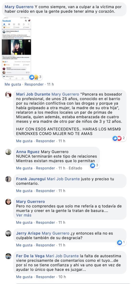 feminicidio de micaela zalazar en argentina es condenado en redes sociales 2