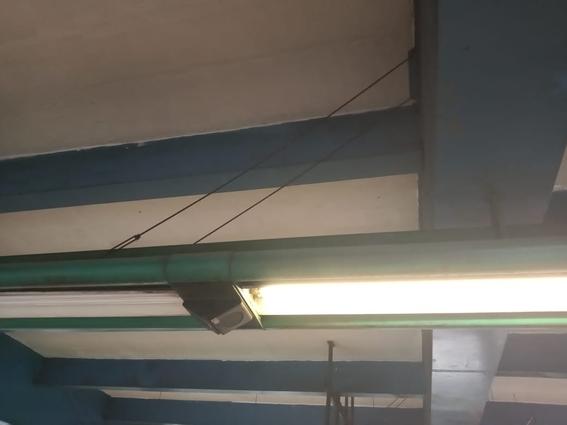 video arana gigante estacion constitucion de 1917 metro 1