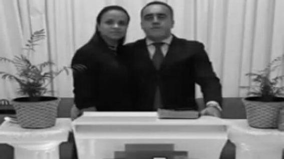 pastor golpea a su esposa 1