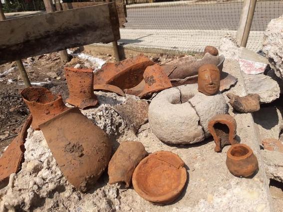 albaniles descubren sitio arqueologico veracruz 1