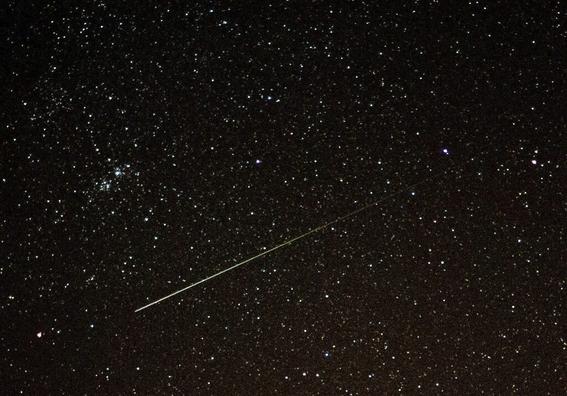 desde hoy podra observarse la lluvia de meteoros orionidas 1