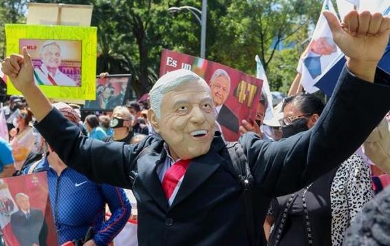 fotos la marcha del millon asi la manifestacion en apoyo a lopez obrador 2