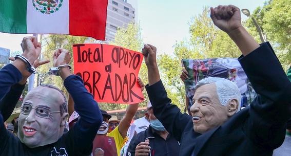 fotos la marcha del millon asi la manifestacion en apoyo a lopez obrador 3