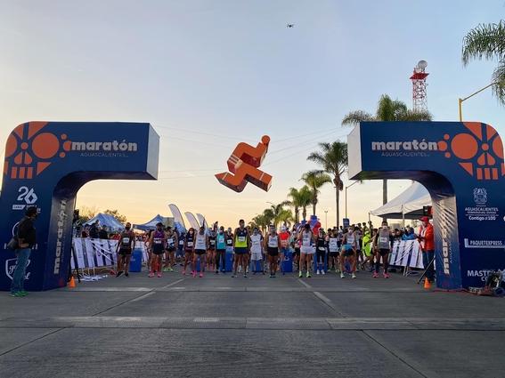 maraton aguascalientes se realiza pese a pandemia con alrededor de mil 600 asistentes 1