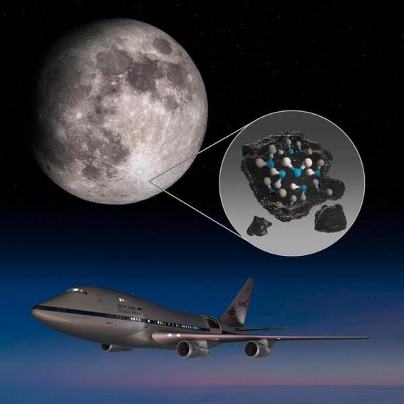 la nasa confirma que hay agua en la luna 1