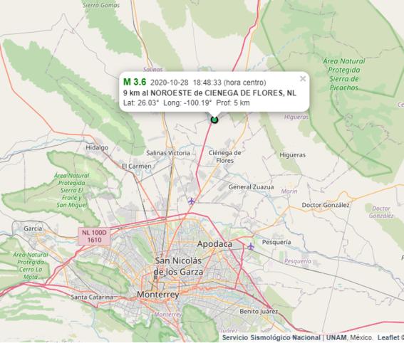 sismo 36 monterrey nuevo leon 1