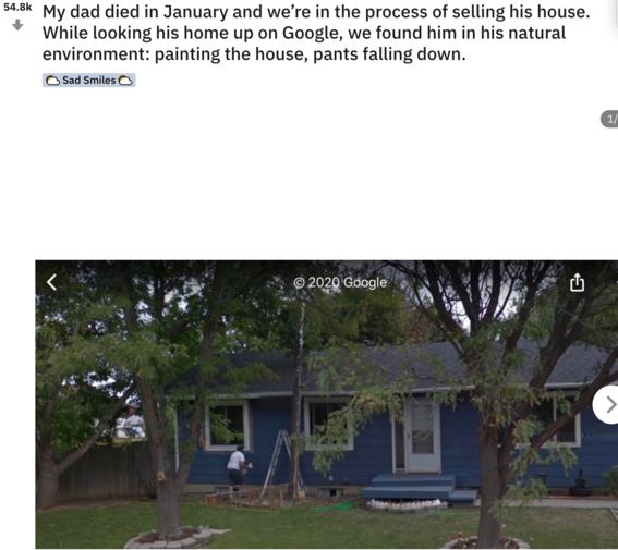 google maps le da la oportunidad de volver a ver a su padre fallecido 2