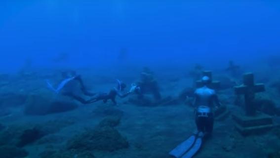 buzos exploran cementerio submarino en el oceano atlantico 1