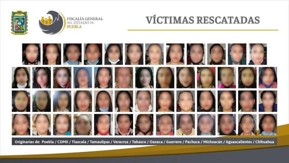 desmantelan red de trata en puebla y salvan a 74 mujeres de 12 estados 2
