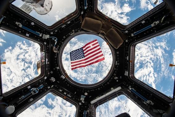 ¿como votan los astronautas desde el espacio nasa lo muestra 1
