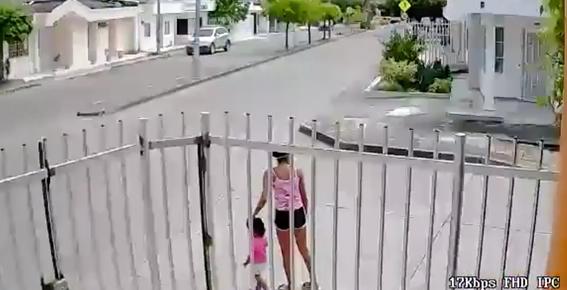 por defender su celular de un robo mujer se olvida de su hija 1
