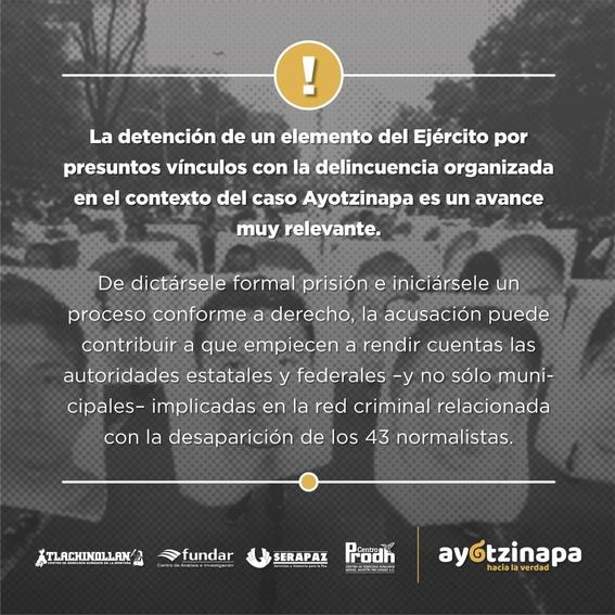 primer militar detenido caso ayotzinapa 1