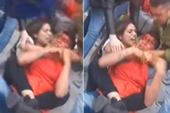 tecnica jiujitsu mujer paliza ladron argentina 1