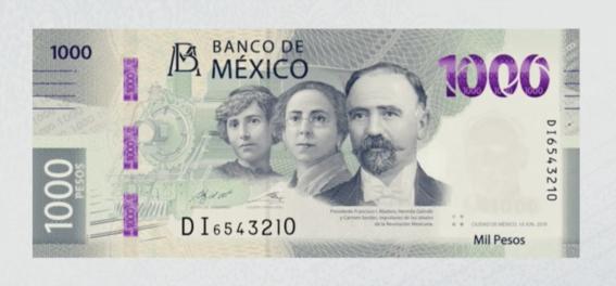 ¿como es el nuevo billete de mil pesos 3
