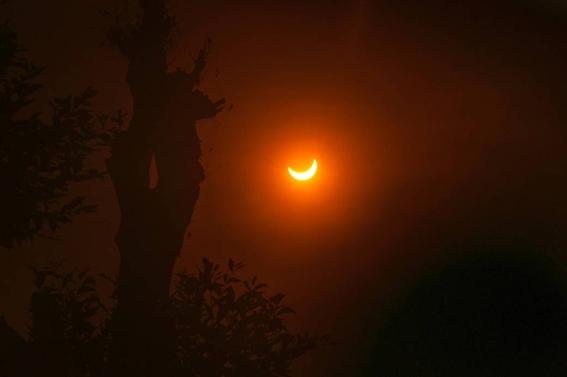 ¿cuando como y donde ver el eclipse penumbral de luna 2