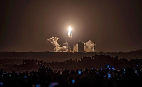 la sonda china change5 entra en la orbita lunar 2