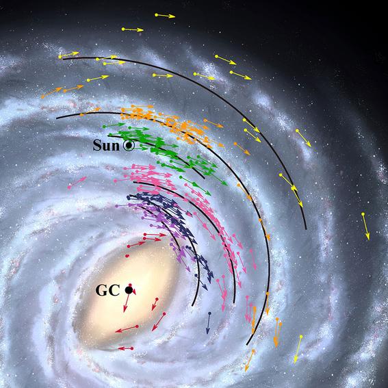 la tierra esta mas cerca de lo pensado del agujero negro al centro de la galaxia 1