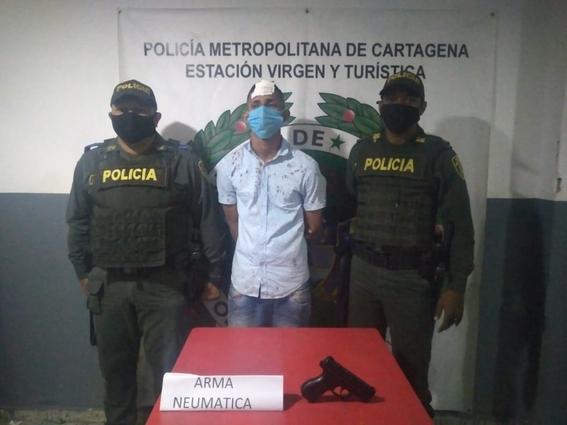 tanque de gas ladron asalto robo colombia 1