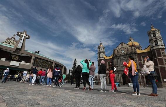 basilica de guadalupe covid virgen de guadalupe 3