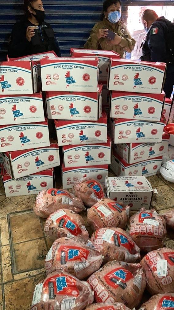 recuperan mas de 600 pavos de navidad robados en el edomex 3