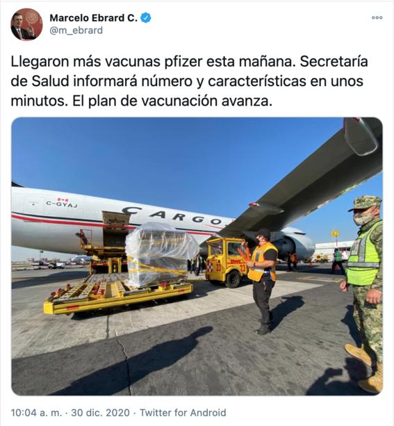 llega a mexico nuevo lote de vacunas de pfizer 1