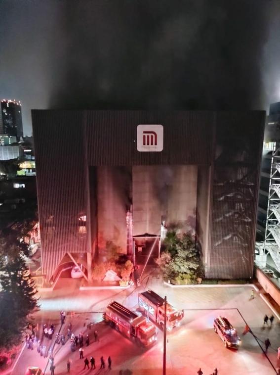 controlan incendio metro cdmx 1