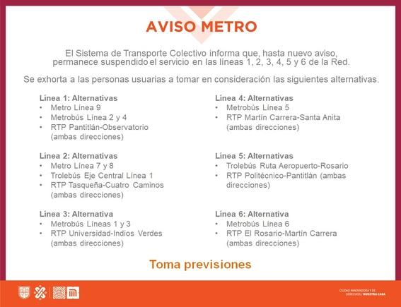 alternativas transporte incendio metro 1