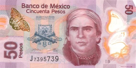 ¿cuales billetes mexicanos saldran de circulacion 2